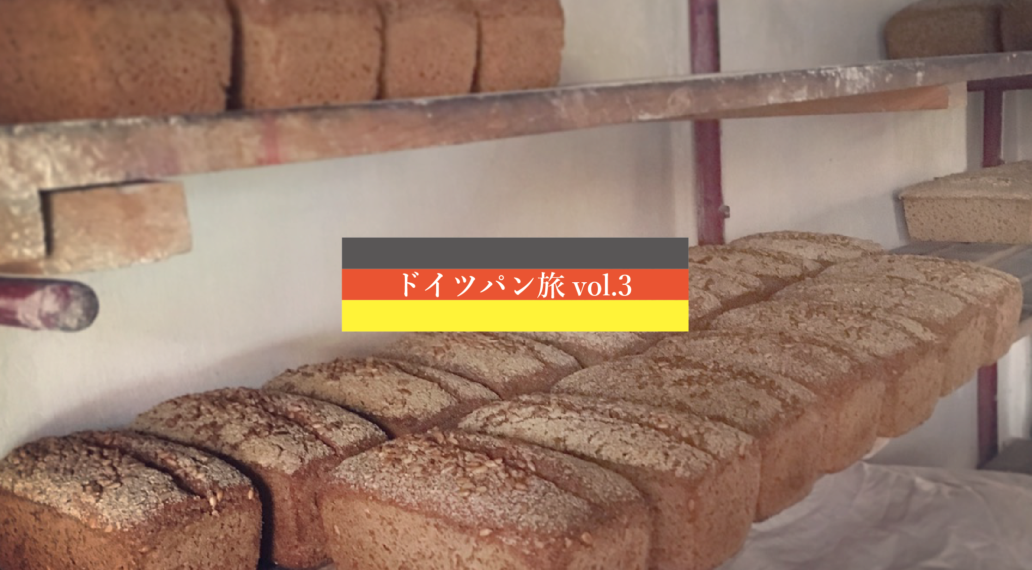 パン作り編-ドイツパン旅-